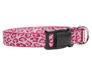 Collar Ayla, rosa - 1,5x15/28 cm