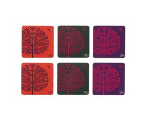 Set de 6 posavasos Forest
