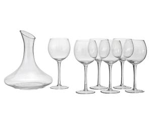 Set 6 copas de vino y decantador Grand Bouquet
