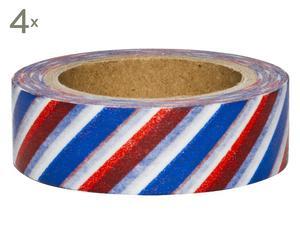 Set de 4 rollos de cinta adhesiva France