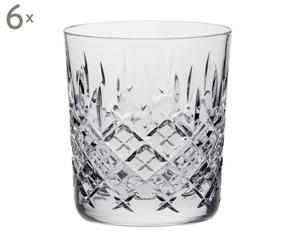 Set de 6 vasos de whisky londres - 330 ml
