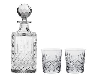 Set de whisky londres – 3 piezas