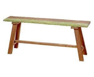 Banco de madera reciclada Mak