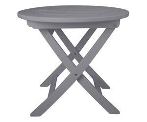 Mesa plegable redonda Artemis – gris