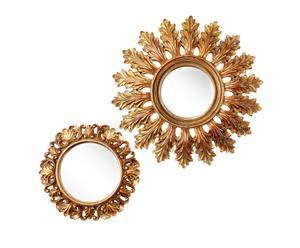Set de 2 espejos de pared Liliane