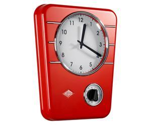 Reloj de cocina con temporizador Lille - rojo