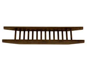 Bandeja de bañera en madera de roble Studio - marrón oscuro