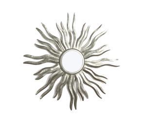 Espejo hecho a mano en aluminio Ophelia  - plateado