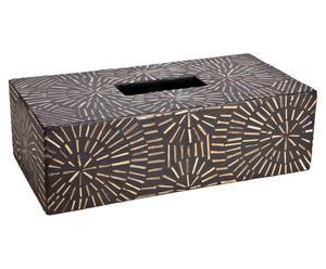 Caja de pañuelos de papel Ratán