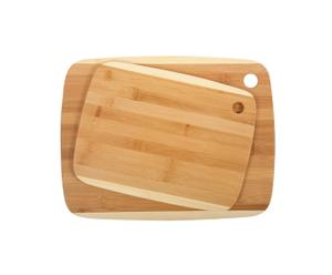 Set de 2 tablas de cortar de bambú Classic