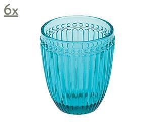 Set de 6 vasos Bonarda – azul