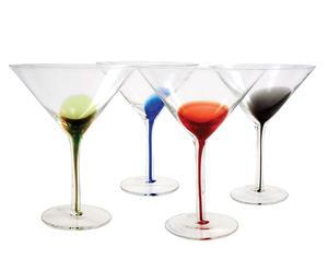 Set de 4 copas de Martini Molinara