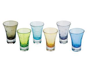 Set de 6 vasos de chupito Verdiso