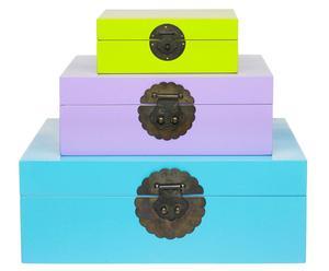 Set de 3 cajas Holmen