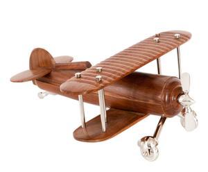 Avioneta de madera y aluminio