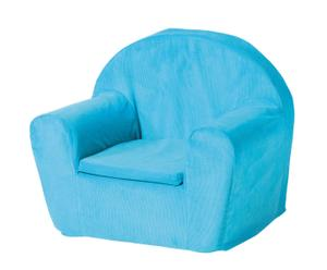Mini sofá Corduroy - turquesa