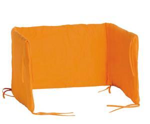 Protector de cuna - Naranja