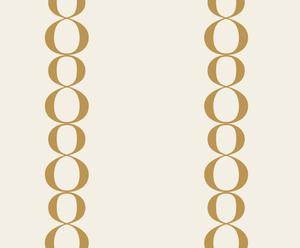 Papel de pared 8x2 Pequeño – Dorado