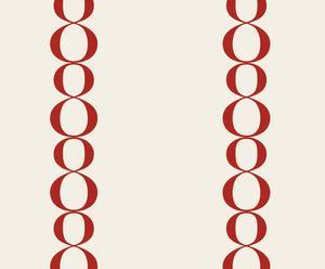 Papel de pared 8x2 Pequeño – rojo