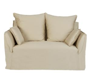 Sofá de 2 plazas - beige