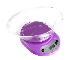 Báscula de cocina – violeta