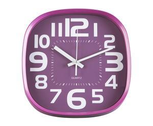 Reloj cuadrado – violeta