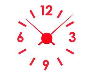 Reloj de pared – rojo