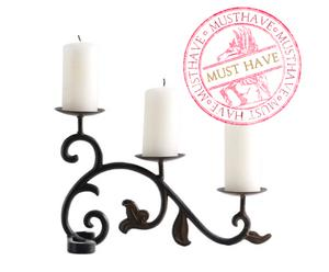 Candelabro Filigranas – set de 2