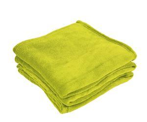 Set de 2 mantas - verde