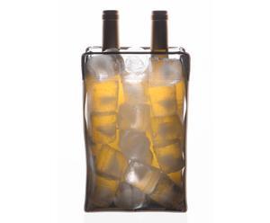 Cubitera Nice Cooler - Transparente y Negro translucido