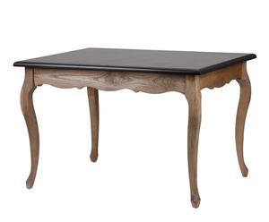 Mesa de comedor en madera de álamo
