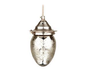 Lámpara de tallada – Efecto plata antigua