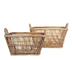 Set de 2 cestas