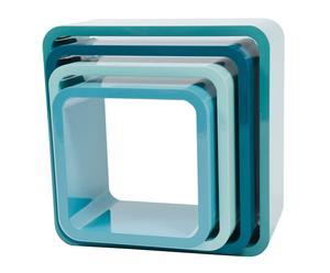 Juego de 4 muebles – azul