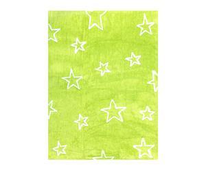 Alfombra Estrellas – verde pistacho