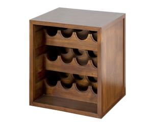 Botellero apilable para 12 botellas