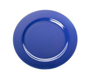 Plato de postre – azul