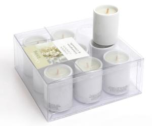 Set de 9 velas mini – aroma lemongrass y citro