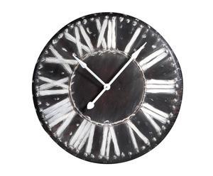 Reloj pared plancha metal