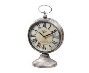 Reloj de sobremesa de metal