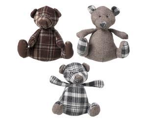 Set de 3 peluches Oso Teddy - pequeños