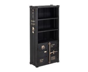 Librería de hierro negro
