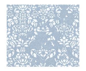 Papel pintado Comblé - azul