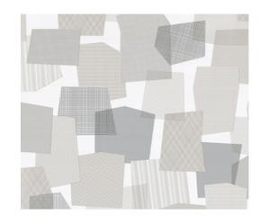 Papel pintado Collage - gris