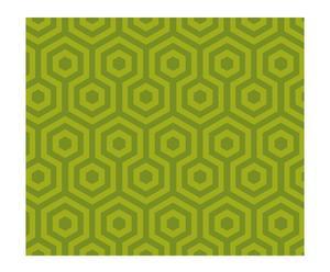 Papel pintado Hexágono – verde