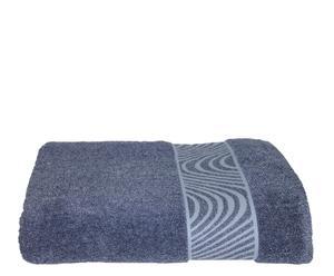 Toalla de ducha Mouliné - Azul