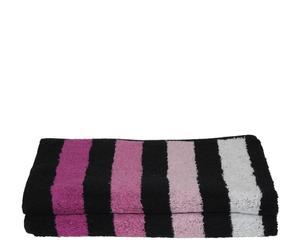 Set de 2 toallas de aseo Cool - Morado