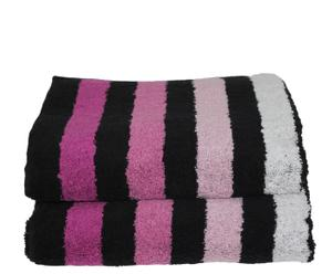 Set de 2 toallas de lavabo Cool - Morado