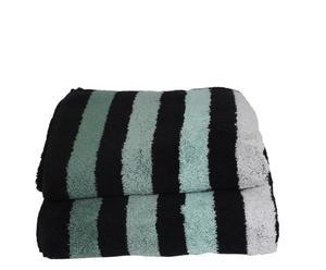Set de 2 toallas de lavabo Cool - Verde