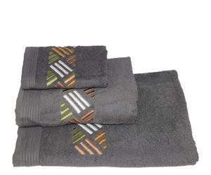Set de toalla de aseo, lavabo y ducha Mosaico